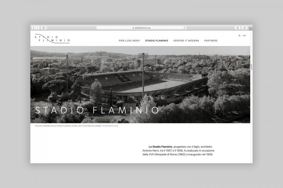 Site web Stadio Flaminio
